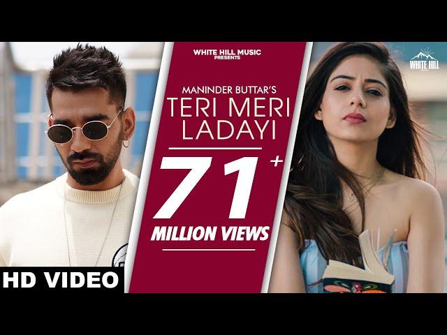 Teri Meri Ladayi Maninder Buttar Ft Tania Lyrics