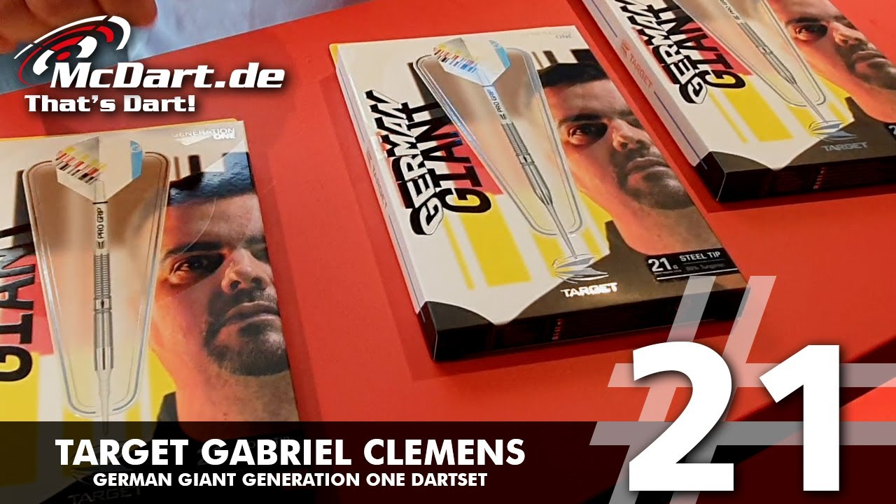 Detail Thumbnail Video Target Gabriel Clemens Generation One Steeldarts