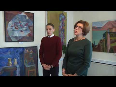 Репортаж об открытии юбилейной выставки живописи Яны Поклад