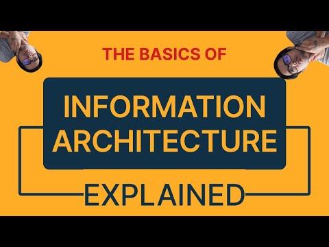#1 - Information Architecture 101