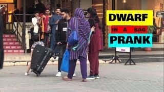 DWARF IN A BAG PRANK | 1st TIME  PRANK IN PAKISTAN | SuperBoy Pranks
