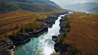 Горный Алтай. Долина реки Катунь.
