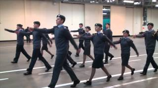 2367Sqn's 2013 Drill Squad - ACO National Drill Competition