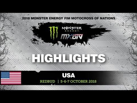 NEWS Highlights - MXoN 2018 RedBud, USA - in Spanish