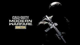 Modern Warfare Beta - TheBrokenMachine's Chillstream 60 fps multiplayer Gameplay