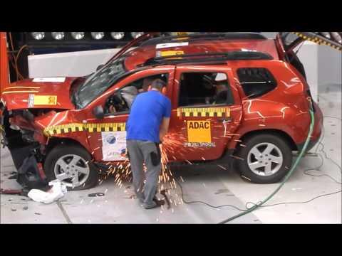 LatinNCAP y el backstage del crash test de la Renault Duster - Autoblog.com.ar