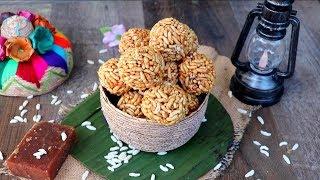 Puffed Rice Laddu