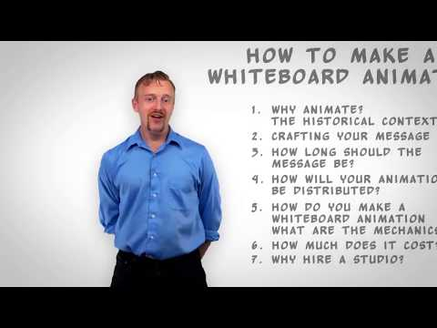 How to make a Whiteboard Animation