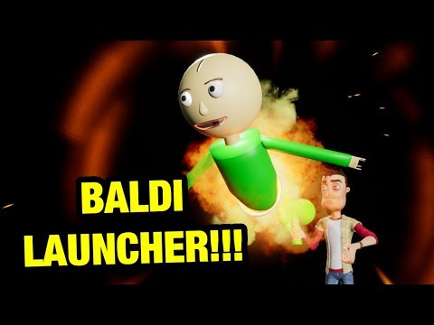 HELLO NEIGHBOR - BALDI LAUNCHER!!!