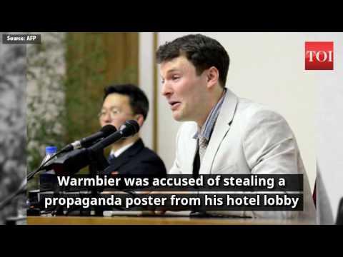North Korea denies torturing US detainee Otto Warmbier