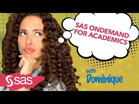 SAS Tutorial | Getting Started with SAS OnDemand for Academics