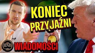 Koniec przyjaźni – Trump WYBRAŁ IZRAEL zamiast Polski! | WIADOMOŚCI