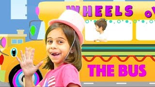 Wheels on the Bus | KLS Nursery Rhymes & Kids Songs