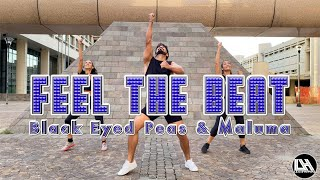 Feel The Beat - Black Eyed Peas, Maluma by Lessier Herrera Zumba