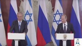 Переводчик не перевел вопрос на пресс-конференции Путина и Нетаньяху, Россия - Израиль