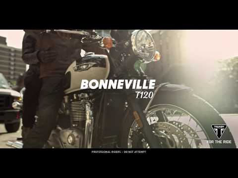 2020 Triumph Bonneville T120 in Goshen, New York - Video 1