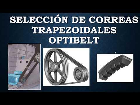 Seleccion de Correas Trapezoidal Optibelt