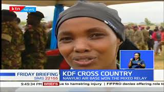 KDF cross country demonstrated a high level of excellence in athletics