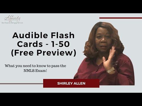Passing the NMLS Exam - Audible Flash Cards - 1-50 (Free Preview ...