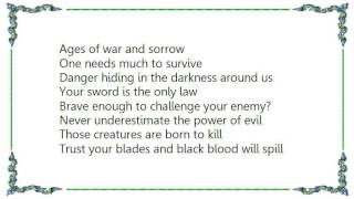 Battlelore - Swordmaster Lyrics