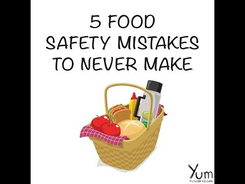 5 Food Safety Mistakes to Never Make