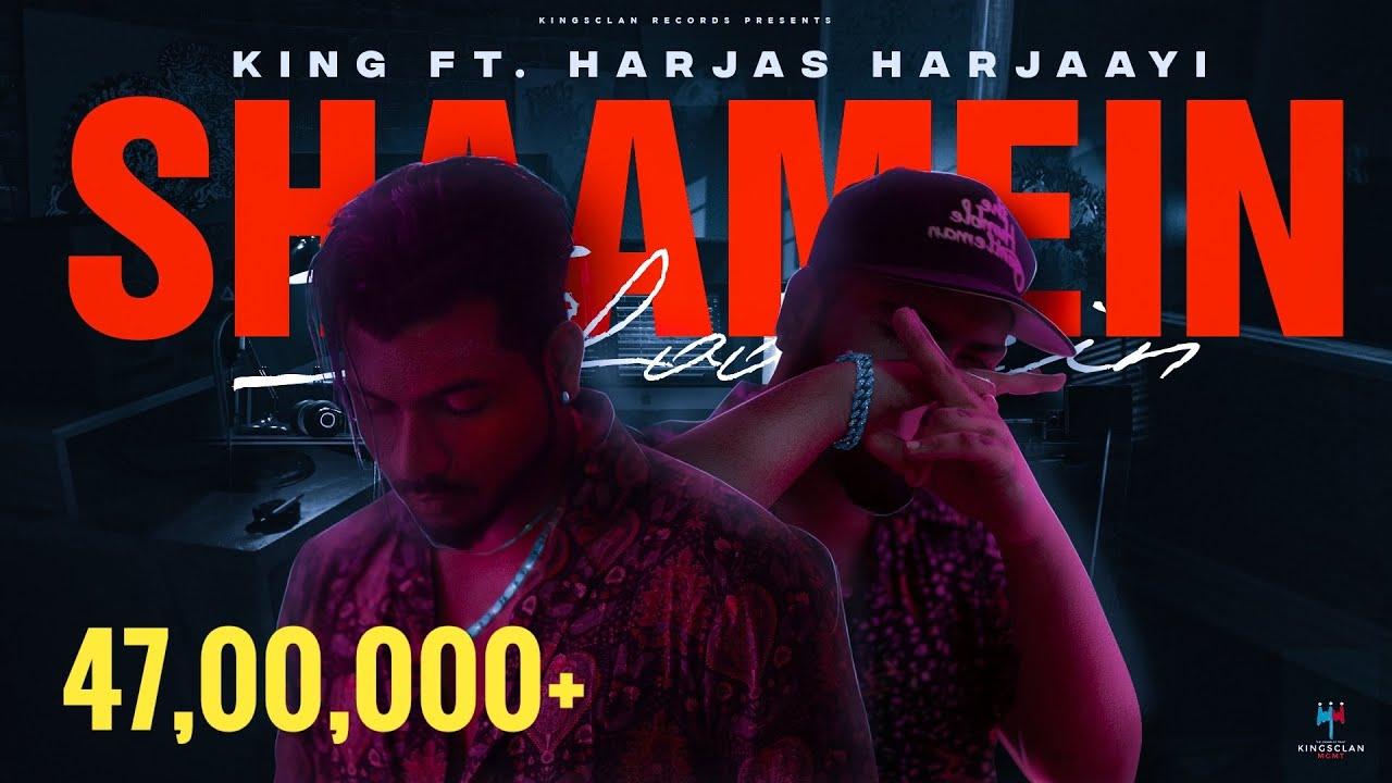 SHAAMEIN LYRICS - King, Harjas Harjaayi | The Gorilla Bounce