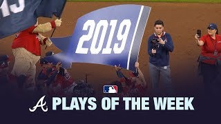 9/22/19: Braves clinch NL East to highlight Plays of the Week