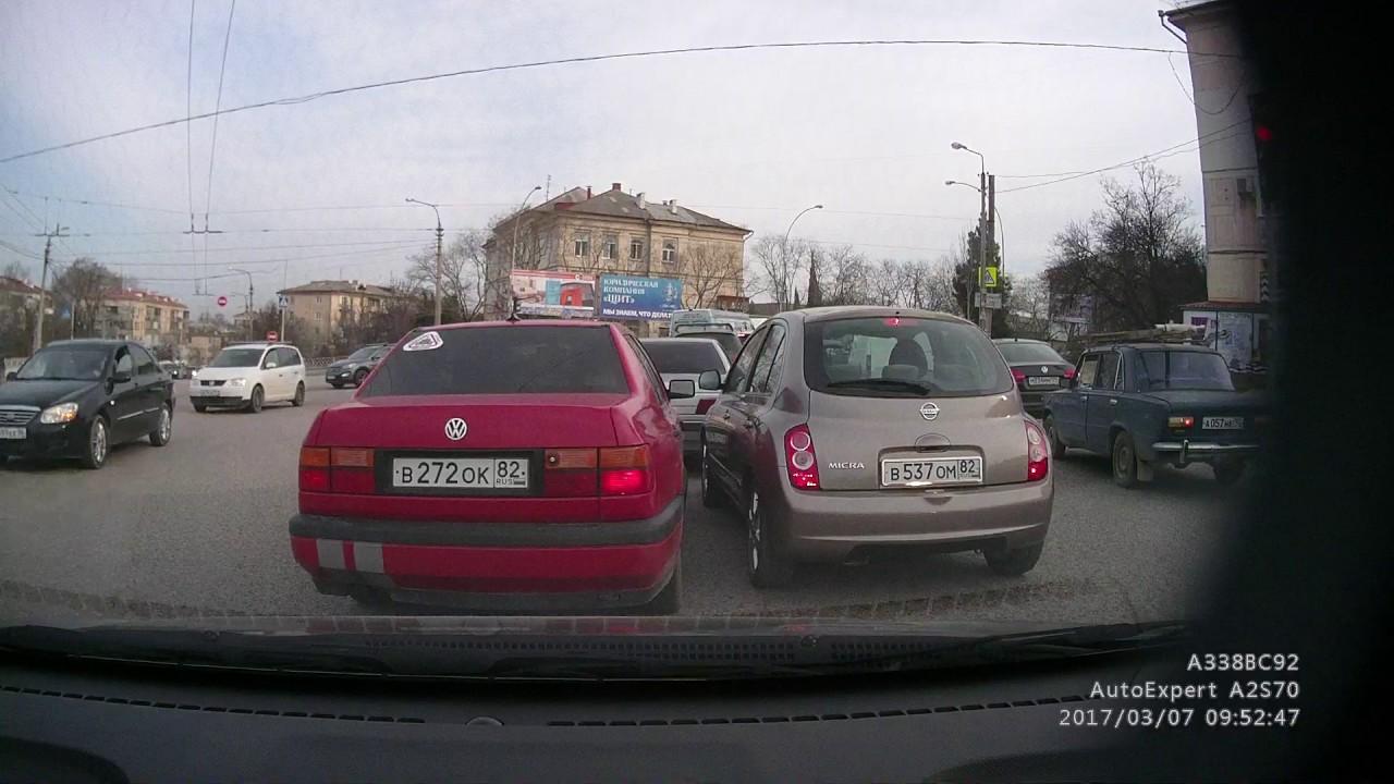 Дорожный конфликт и драка в Севастополе