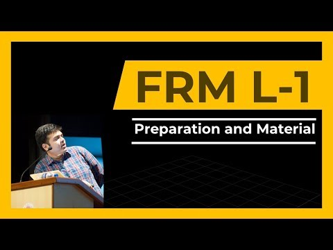 FRM Part 1- 1st Class | How to Begin Preparation | Material - YouTube