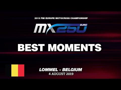 EMX250 Race 2 Best Moments   Round of Belgium 2019 #motocross   2