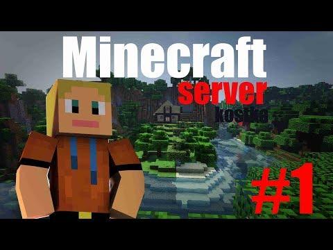 DukyLP -Minecraft server KOSTKA #1 - Pozvánka na server