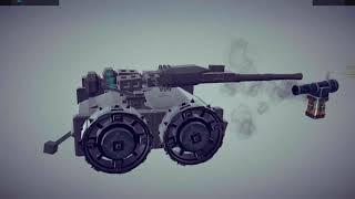 BESIEGE The Compsite Armor Test