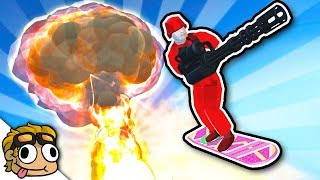 NEW HOVERBOARD, NUKE, and MINIGUN! | Ravenfield Weapon and Vehicle Mod Beta Gameplay