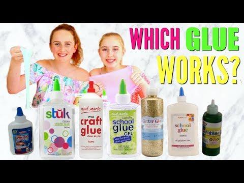 TESTING GLUES FOR SLIME! Do Cheap Glues Work?