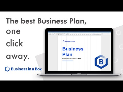 Your Business Plan by Business in a Box