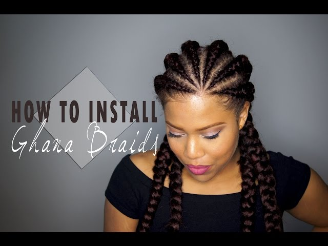 How To Install Ghana Cornrows Invisible C