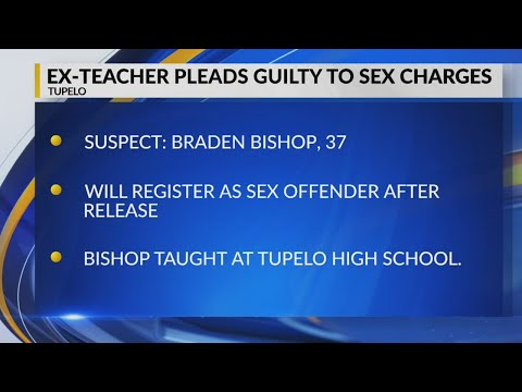 Ex-teacher pleads guilty to sex charges