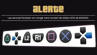 code triche gta 5 ps4 argent