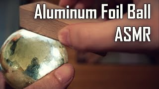 Polishing Aluminum Foil Ball (ASMR Evolution) - Video Youtube