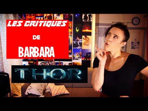 LES CRITIQUES DE BARBARA - MARVEL - THOR