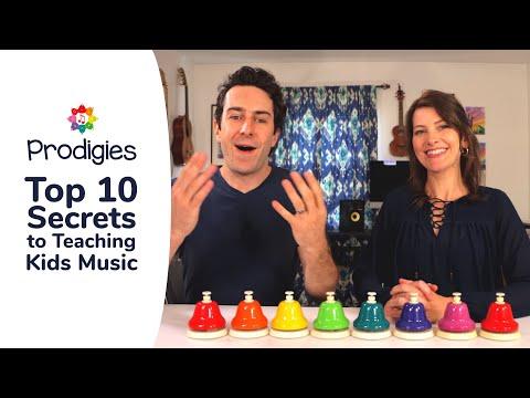 Top 10 Secrets to Teaching Kids Music - Parent/Teacher Training ...