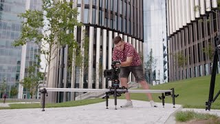 Proaim Cosmo 8ft Cinematic Camera Slider Dolly- Smooth, Extendable, Portable, Affordable| Test Shots