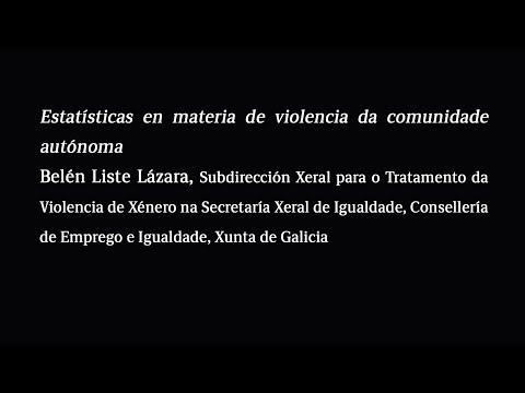 Estatísticas en materia de violencia da comunidade autónoma