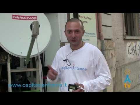 Come usare il SATFINDER per l'orientamento della parabola satellitare