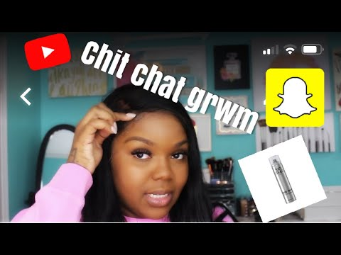 LAY YOUR LACEFRONT W/ TIGI BEDHEAD HARD HEAD SPRAY & CHIT CHAT GRWM LIFE UPDATE