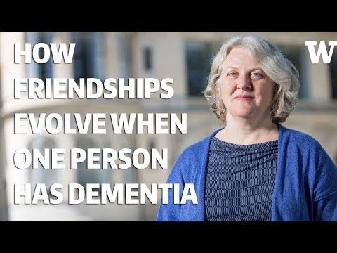 How friendships evolve when one person has dementia