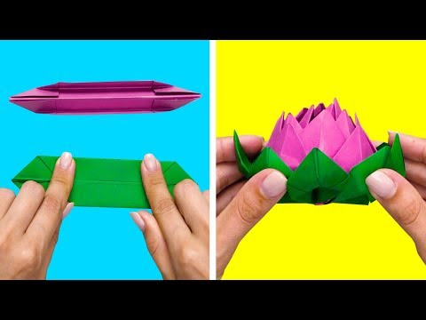 30 PAPER TRICKS AND DIY IDEAS