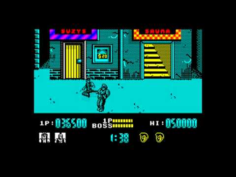 ZX SPECTRUM - Renegade (General Sound Interface)