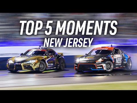 フォーミュラドリフト イングリッシュタウン(ニュージャージー)決勝ドリフトのハイライト動画