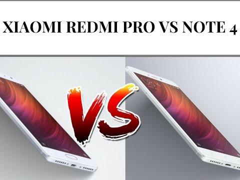 Foto Xiaomi Redmi Note 4 vs Xiaomi Redmi Pro ITA